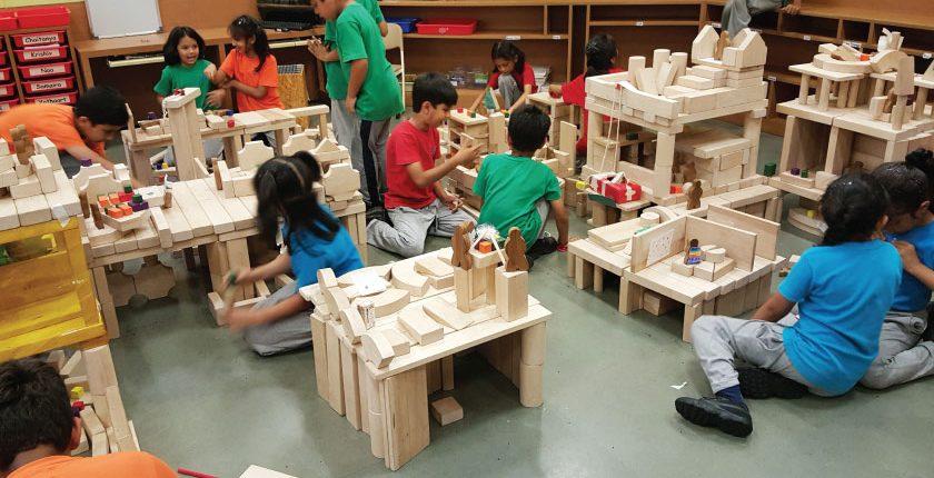 Block play - BD Somani International School