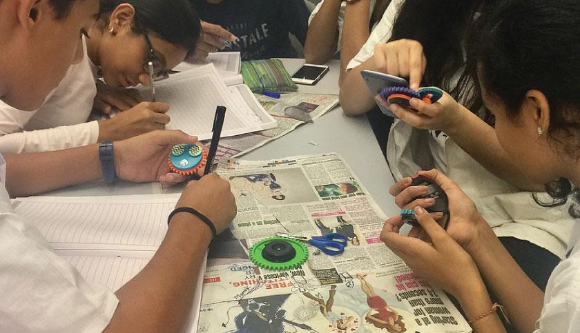 Activities in the Middle School - BD Somani International School